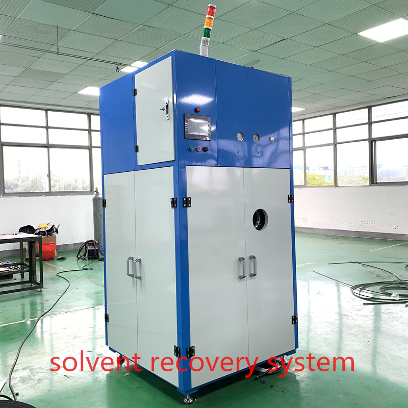 Water-based solvent recovery machine