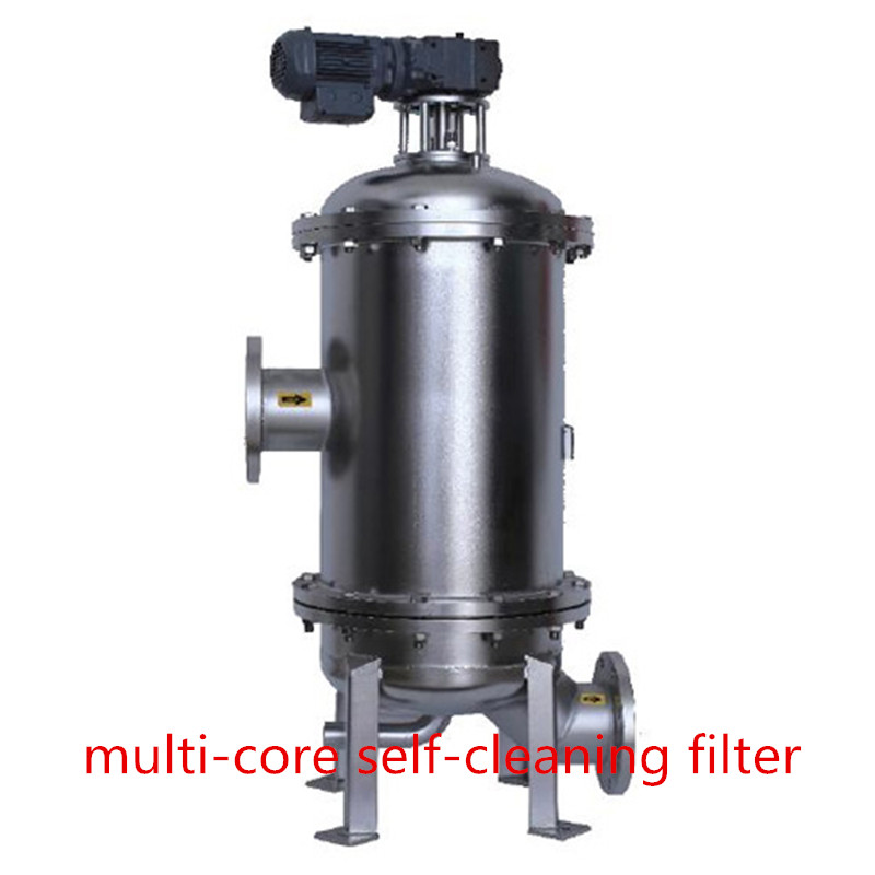 MS-CF Multi-core self-cleaning filter